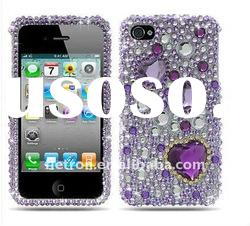 bling case for Apple iPhone 4 4S Bling Hard Case Cover Accessory