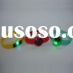 led magnetic silicone bracelet
