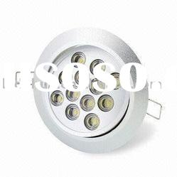 12W LED high power indoor use ceiling products
