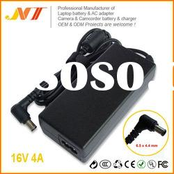 16V 4A Laptop AC Adapter For Sony