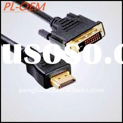 19pin Gold HDMI Cable 1080p for DVD,TV out HDMI Cable