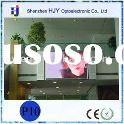 1R1G1B advertising led panel display for indoor PH10 led panel