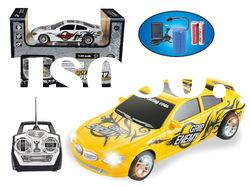 1 24 scale 4-function plastic mini rc toy car