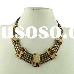 2012 Fashion Alloy Accessories,Leather Necklace,Chocker Women jewellery