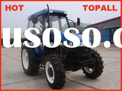 2012 Hot Sale 80HP Agricultural Farm Wheel Tractor 804 with Cabin and Front end loader