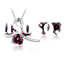 2012 Spring Top Selling Fine Jewelry Set With Necklace And Earring 4340-4345