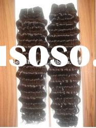 2012 top quality deep wave human hair weaving