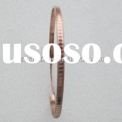 316L Stainless steel fashion gold plated bangle