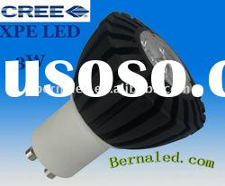 3W GU10 LED Spotlight/3W CREE LED spotlight GU10