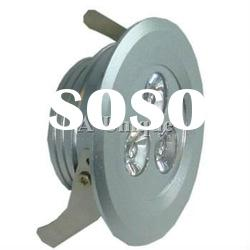 3*3w led downlight AU03-DL3/6W Dimmable LED downlight