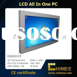 "42"" LCD Touch Panel PC Monitor (All in one Computer, i3 i5 i7 optional) (10.4~65"")"