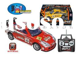 4 Channel Racing Remote Control Car 1:18 (with recharger)