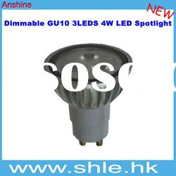 4w led spot gu10 dimmable