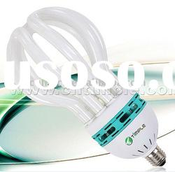 5U lotus shape energy saving lamp (85W ESL CFL BULB TUBE )
