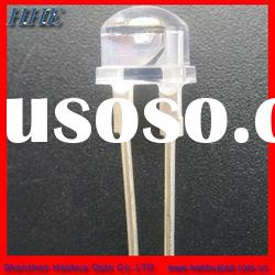 8mm 0.5w straw hat led diode for torch light