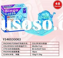 90 yards bingo machine bingo game toy