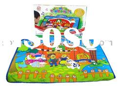 910990594 Baby toy,Electronic baby toy,Animal carpet with music (not include batteries)