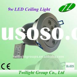 9w led ceiling downlights/ Recessed Led Down Light manufacturers