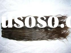 AAA quality unprocessed machine made curly indian remy hair