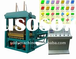 Automatic Concrete Hollow Block Machine Production Line