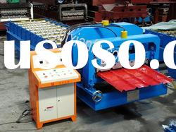 Automatic Glazed Metal Roofing Panel Cold Bending Roll Forming Machine
