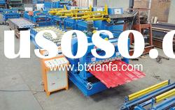 Automatic Roof Panel Glazed Tile Roll Forming Machine
