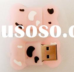 Bone shape usb flash drive with any color