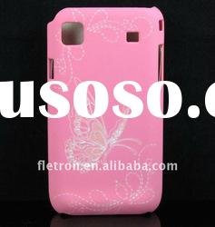 Butterfly Pink Skin Hard Back Case Cover For Samsung i9000 Galaxy S
