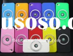 CAMERA STYLE CASE COVER SKIN FOR iPHONE 4 4S