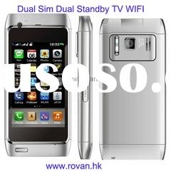 CH08 dual sim dual standby TV WIFI phone