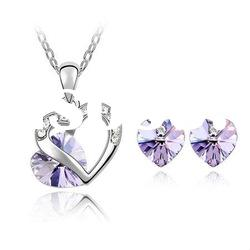 Crystal Jewerlry Set/Necklace and Earring Set (4346-4354) /Fashion Jewellery Set