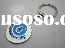 Customizing Key Tag Zinc alloy Keyring Metal Engraved LOGO