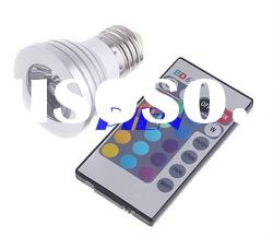 Dropshipping--RGB LED light Bulb with Remote Control