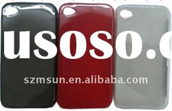 Durable TPU Case for iPhone 4 Case