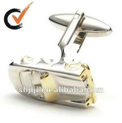 Exquisite Gold And Silver Car Metal Jewelry Cufflinks