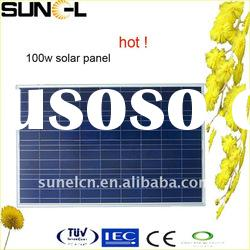 Factory Direct Selling 100w Solar Panels With CE,CEC, TUV Certificafed