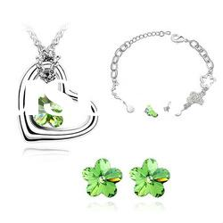 Fancy Jewelry Set with Charm Austria Crystal 4323-4326