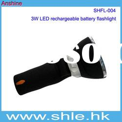 Focus Lens Rechargeable led flashlight 3w