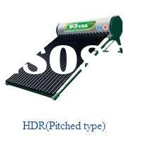 HIMIN PRESSURIZED HDR(Pitched type)SOLAR WATER HEATER
