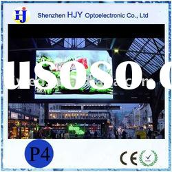 High definition PH4 indoor SMD led panel advertising displays for shopping mall