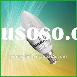 High power Dimmable 3W LED candle Bulb