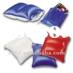 Inflatable PVC Promotional beach pillow bag
