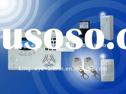 Intelligent Intrude Wireless Alarm, GSM Alarms System with LCD display, SMS Burglar Alarms System