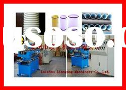 PE/PVC single wall corrugated pipe production line