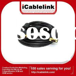Premium 10M gold-plated VGA male to male cable