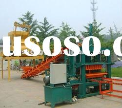QFT5-20 sem automatic cement china block making machine for sale, paver machine