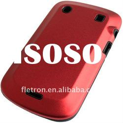 Red Aluminum Metal Silicone Hard Case cover for BlackBerry Bold 9900 9930