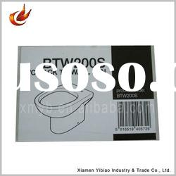 Self adhesive 2011 WC printing barcode label sticker