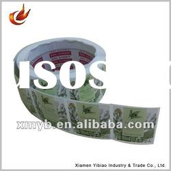 Self adhesive Commodity removable sticker paper