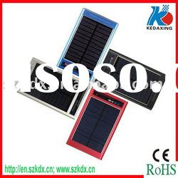 Solar power battery charger for cellphone MP3 MP4 DC
